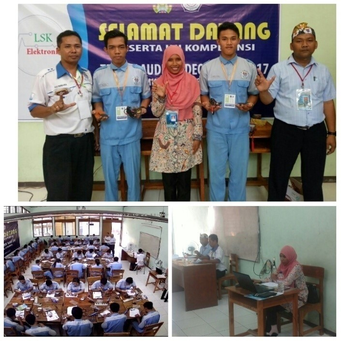 UJI KOMPETENSI TEKNIK AUDIO VIDEO 2017 DI SMKN 3 SINGARAJA